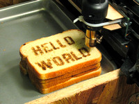 Hello World Toast